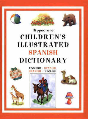 Children's Illustrated Spanish Dictionary by Editors of Hippocrene Books image