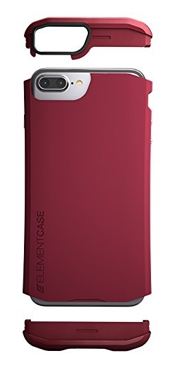 Element: Aura Protective Case - For iPhone 7 Plus (Deep Red) image
