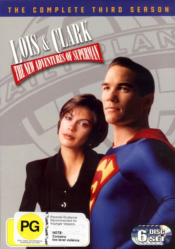 Lois & Clark: The New Adventures Of Superman Season 3 (6 Disc Set) on DVD image