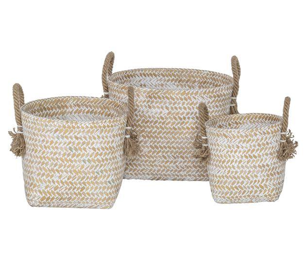Amalfi: Nayla Baskets (Set of 3)