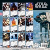 Star Wars Classic 2021 Square Wall Calendar