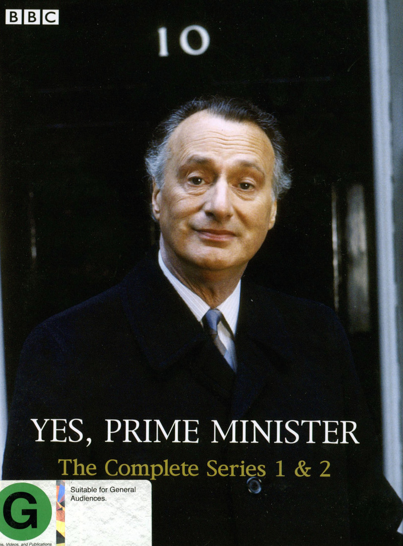 Yes Prime Minister - Complete Series 1 & 2 (3 Disc) on DVD image
