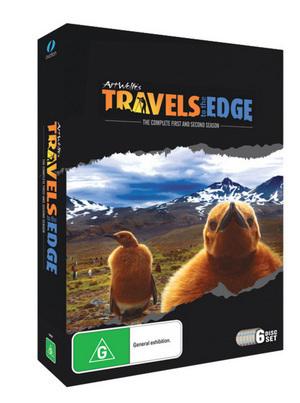 Travels To The Edge - Season 1 & 2 on DVD