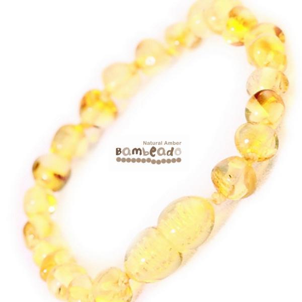 Bambeado Amber Bracelet Baby Bud - Lemon
