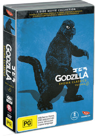 Godzilla Showa Classics - Volume 2 Box Set on DVD