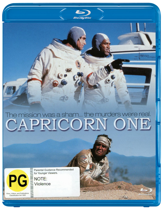 Capricorn One on Blu-ray