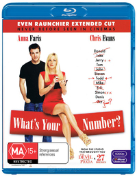 What's Your Number? on Blu-ray
