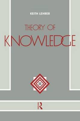 Theory of Knowledge by Keith Lehrer image