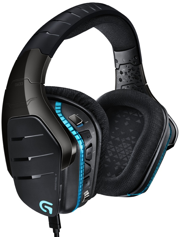 Logitech G633 RGB 7.1 Gaming Headset (Wired) for PC