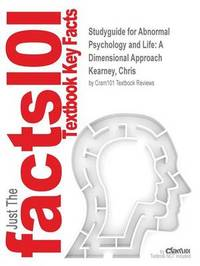 Studyguide for Abnormal Psychology and Life by Cram101 Textbook Reviews image