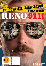 Reno 911: Season 3 (2 Disc Set) on DVD
