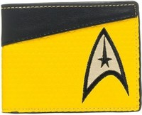 Star Trek Gold Yellow Bi-fold Wallet