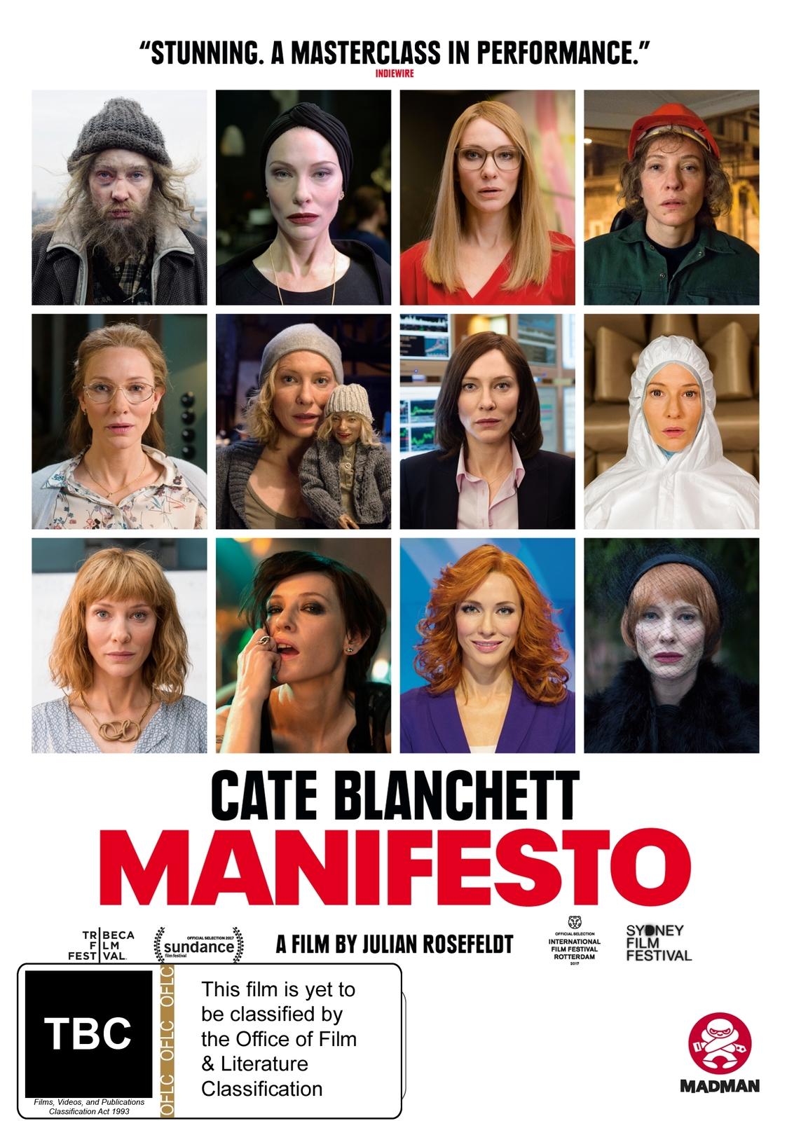 Manifesto on DVD image