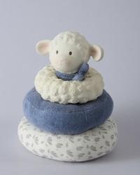 Tikiri: Lucas Lamb - Blue Stacker Toy