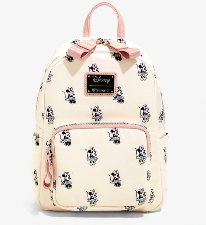 577f432a4 Loungefly: Minnie Pastel Satin Mini Backpack | Women's | at Mighty ...