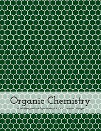 Organic Chemistry Hexagon Graph Paper Notebook by Vivid Ink Vault