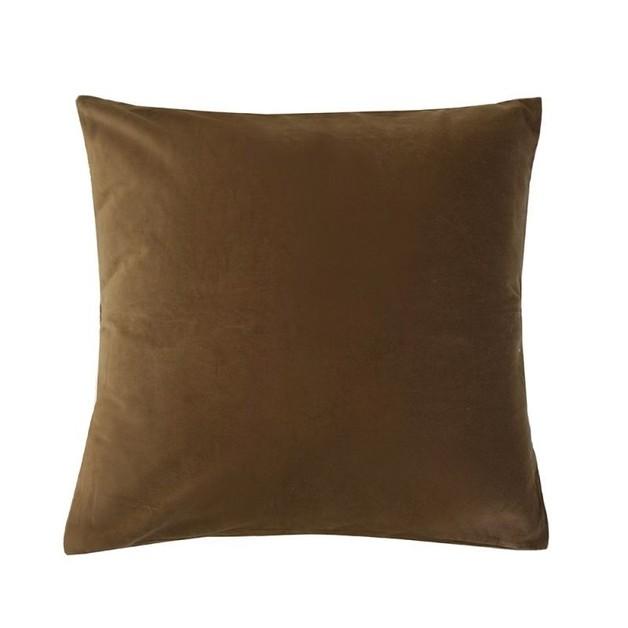 Bambury: Velvet European Pillowcase - Hazel