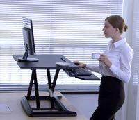 Gorilla Office: Workstation - Black (700 x 500mm)