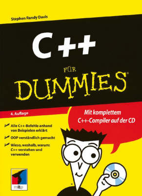 C++ Fur Dummies by Stephen R. Davis image