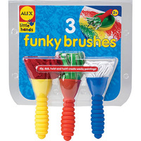 Alex: 3 Funky Brushes