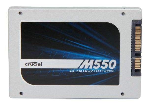 "512GB M550 Crucial 2.5"" SSD 550MB Read/500MB Write"