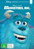Monsters, Inc (Pixar Collection 4) on DVD