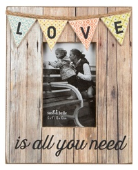 Love Rustic Bunting - Photo Frame