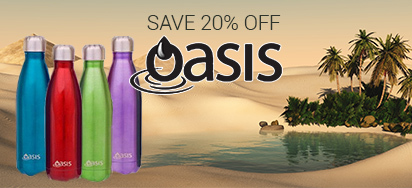 20% OFF Oasis Hydration!