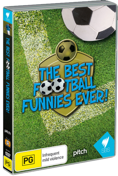 The Best Football Funnies on DVD image