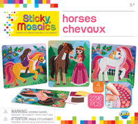 The Orb Factory: Sticky Mosaics - Horses