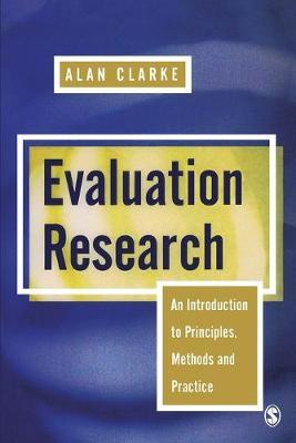 Evaluation Research by Alan Clarke