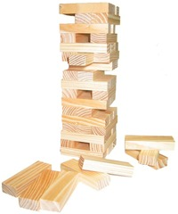 Fun Factory: Tumble Tower 48 Piece image