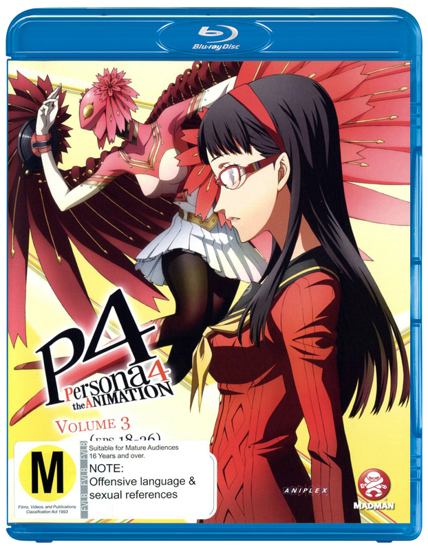 Persona 4 - The Animation Volume 3 (Eps 18-26) on Blu-ray