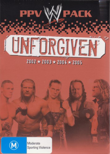 WWE - Unforgiven: PPV Pack (4 Disc Box Set) on DVD