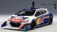 AUTOart: 1/18 Peugeot 208 T16 Pikes Peak Race Car 2013 (Red Bull) - Diecast Model