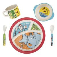 Dr. Seuss: Bamboo Dinnerware Set
