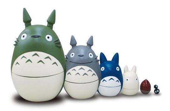 My Neighbor Totoro - Matryoshka Nesting Dolls