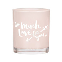 So Much Love For You Candle (Large, Blush)