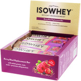 IsoWhey Meal Replacement Bar - Berry (62g x 12)