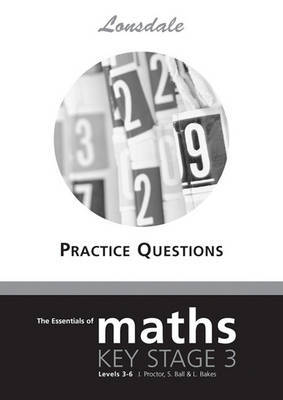 KS3 Maths Levels 3-6 Practice Questions by Lonsdale Revision Guides image