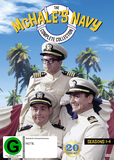 McHale's Navy - Complete Collection (Season 1-4) on DVD