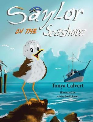 Saylor on the Seashore by Tonya Calvert image