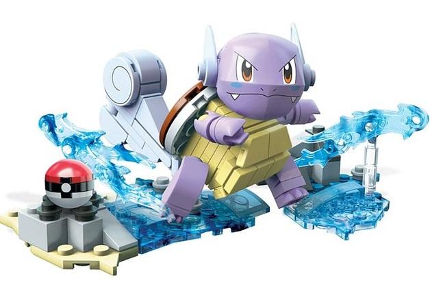 Mega Construx: Pokemon Evolution Set - Wartortle