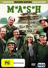 MASH - Complete Season 11 Collection (3 Disc Set) (New Packaging) on DVD
