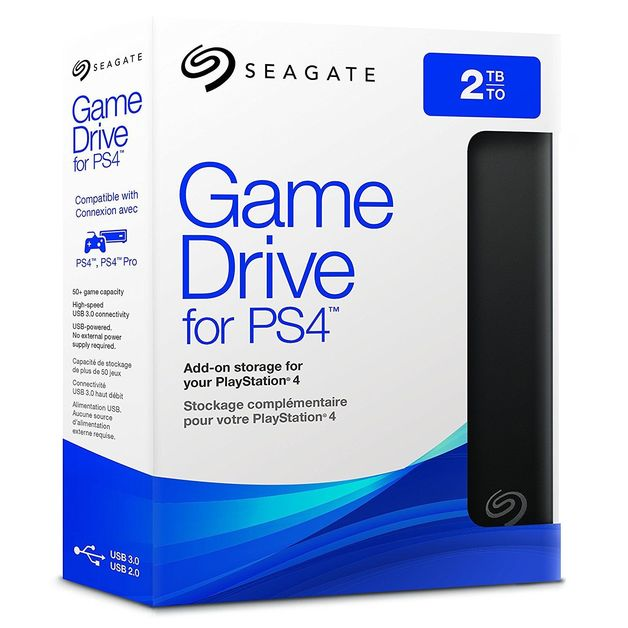 2TB Seagate Game Drive for PlayStation 4 for