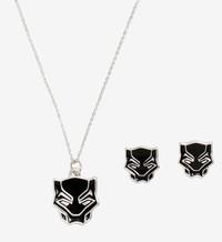 Marvel: Black Panther - Earring & Necklace Set