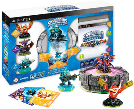Skylanders Spyro's Adventure Starter Pack (contains Portal, Gill Grunt, Spyro, Trigger Happy) screenshot