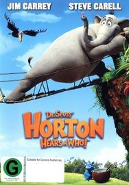 Dr Seuss' Horton Hears A Who! on DVD