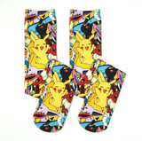 Pokemon Pikachu Eveeloution Knee High