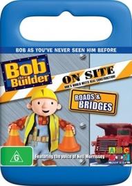 Bob the Builder: On Site - Roads & Bridges on DVD image